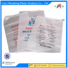 2015 new trasparent pp woven bag /lamination trasparent PP woven bag PP woven rice bag manufactory/PP Woven Bags with Green Edge