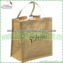 2012 recyclable jute shopping bag