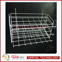 Pegboard panel used Wall Mounted newsPaper wire Rack