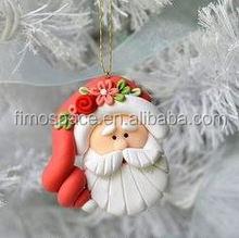 glitter polymer christmas ball X'mas tree hanging decoration