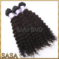 Factory price wholesale darling hair extension/ remy curly hair weaves/ darling soft dread hair extension