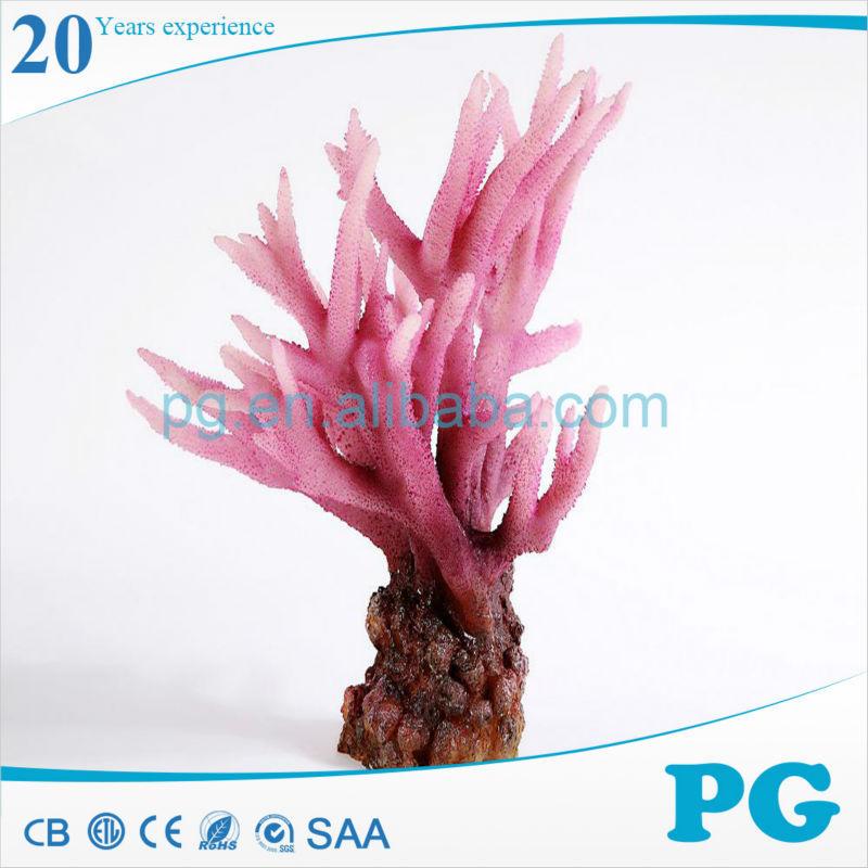 Pg custom decor artificial coral reef aquarium accessories for Artificial coral reef aquarium decoration