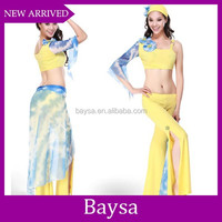 Sexy led girls dance costume women belly dance costumes BD-0012