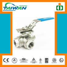 Taiwan Direct Mounting Pad 3way ball valve, electric actuator ball valve, air vent ball valve