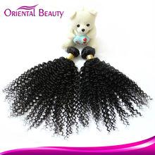 Aliexpress peerless peruvian jerry curl weft hair extensions