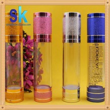 2015 new design pet bottle with spray cap pet bottle for water or lotion airless bottle 50ml
