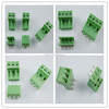 high quality green electric pcb pluggable terminal block(3.5mm 3.81mm 5.0mm 5.08mm pitch )