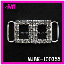 rhinestone ribbon invitation buckle ladies shoes buckle MJBK-100355