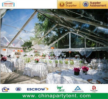hot sale back yard transparent wedding tent house for 100 people
