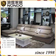 Sectional modern low arm fabric sofa sets BX620-2