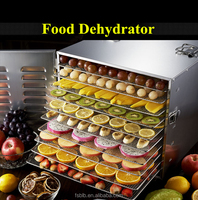 Home use food / spicy /rice dehydrator with nice design and 10 trays in Australian market