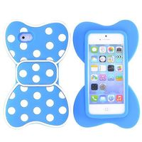 Cute Bow Design Silicone Case for iPhone 5 5S