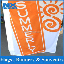 high quality sublimation 75D polyester custom sport events giant flag /outdoor advertising giant banner wholesale
