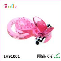 Delay Ejaculation products Waterproof adult sex toy for men vibrator cock ring