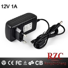 12W 12 volt 1 amp Power Adapter SAD-12-12 AC DC Power Supply 12V 1A / ac to 12v dc 1a