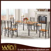 simple dining table chairs cheap dining table and 6 chairs dining chairs DS-0720