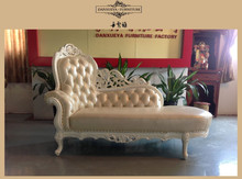 2015 new French style bedroom furniture classic chaise lounge