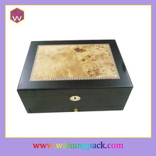Fashion Custom Logo Printed Jewelry Boxes & Wooden Jewelry Packaging Box With Lock
