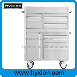 Hot Selling Factory Price OEM roller metal tool chest with wooden top