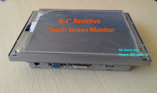 """HDF 8.4"""" low cost hmi touch screen / dvi vga tft lcd monitor for outdoor parking validator"""