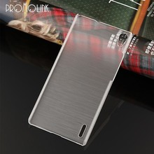 good price wholesales superthin crystal pc mobile case for HuaWei p7/p6