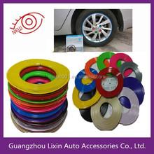 Multicolour car wheel rim protection circle tyre protection circle decoration ring crash bar