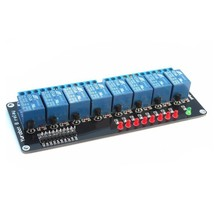 5V 8 Channel Relay Driver Module with LED Indicator Microcontroller Control Board
