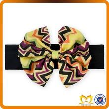 Make fabric kids flower headband elastic headband