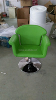 2015 Colorful hairdressing chair for women/Green salon furniture for fashion women