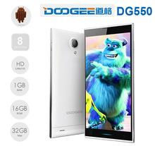 "2014 Original 5.5"" DOOGEE DG550 DAGGER Android 4.4 Phone, MTK6592 Octa Core Dual Sim Card Dual Standby Mobile Phone"