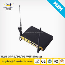 F3834 wifi router openwrt industrial 4g wifi router with sim slot Din rail 4LAN ports support VPN OpenVPN TCP/IP