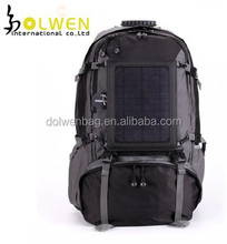 Wholesale custom solar power backpack, solar charger bag