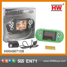 New game PMP 4S game machine 2GB memory with USB charge cable pmp game player