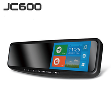 JiMi JC600 Newest 3G Smart Rearview Mirror DVR car camera with touch screen Google map navigator