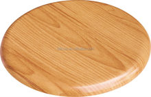 presswood wooden round bar stool