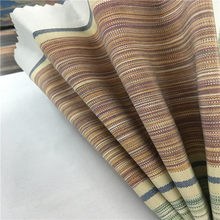 100% polyester sofa fabric/home textile designed upholstery striped sofa fabric for curtain&hotel