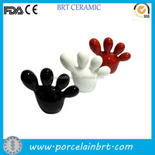 Fashion home deco ceramic fat feet Cheap Door Gift