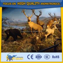 Cetnology High Advanced Natural Lifelike the King of Milu Deer Animal
