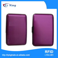 Gift Card Holder Classical Aluminum card Place Case from NingHai