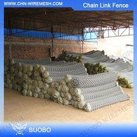 High Quality Automatic Chain Link Fence Machine (Hot Sale) Pvc Chain Link Fence 9 Gauge Chain Link Fence