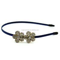 Fashion girls plain thin metal headbands to decorate