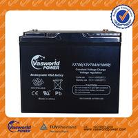 hot sale rechargeable storage gel solar deep cycle 24v 48v 6v 12v 24ah lead acid 12volt dry cell battery