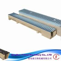 FM-G-channel stainless steel gratings 004 easy installation polymer concrete channel and steel grating