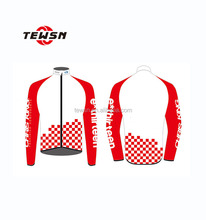 cycling jacket with silicone elastic tape custom