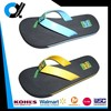 Custom design casual flip flops for child with PU upper EVA outsole