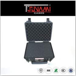No.382718 hard suit cases plastic case with handle