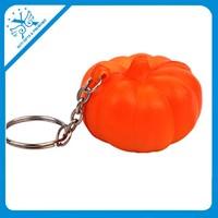 2015New desig PU keychains for pumpkin