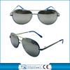 Blue metal kids sun glasses 2015 new product vogue anti-uv sunglasses