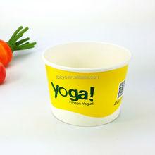Paper cups wholesale ice cream yogurt paper cup
