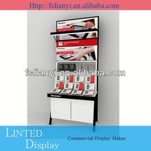 Wholesale commercial display wall mounted clothing hanging rack